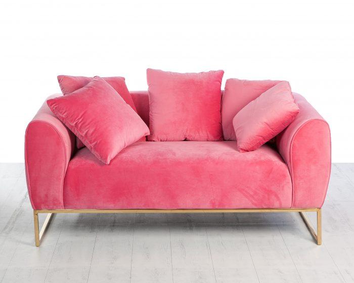 sofá pink
