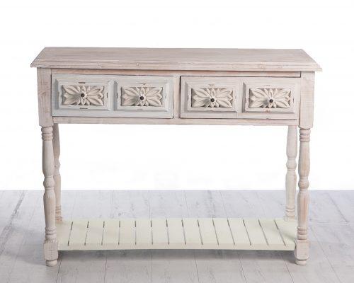 Consola ceremonia. Es uno de los productos de alquiler y decoración de la empresa Évelen enmarcado en la categoría de mesa